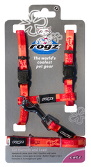 Rogz Cat Harness And Lead Set Kittyrogz - Small