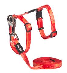 Rogz Cat  Harness and Leash Set SparkleCat Small