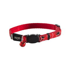 Rogz Cat Collar Buckle Kittyrogz Safeloc FancyCat Small