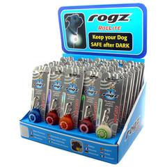 Rogz Dogz Roglite Safety Light Shipper Roglite Medium
