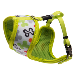 Rogz Dog Wrap Harness - Lapz Trendy - Small 12.5 x 17in