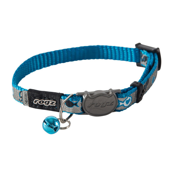 Rogz Cat Breakaway Collar Kittyrogz Reflectocat  Small