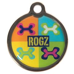 Rogz Dog Instant Resin ID Tag - Size Small 1in