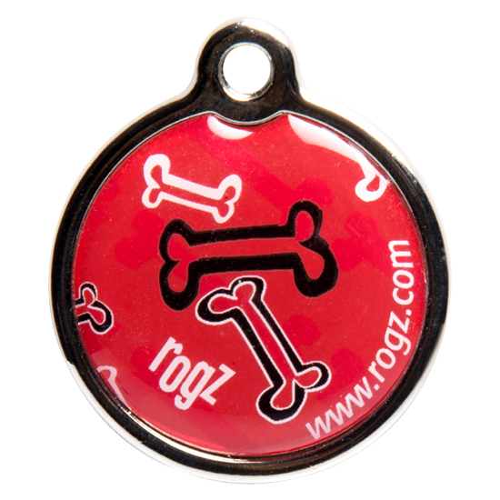 Rogz Dog Instant Resin ID Tag - Size Large 1.3in