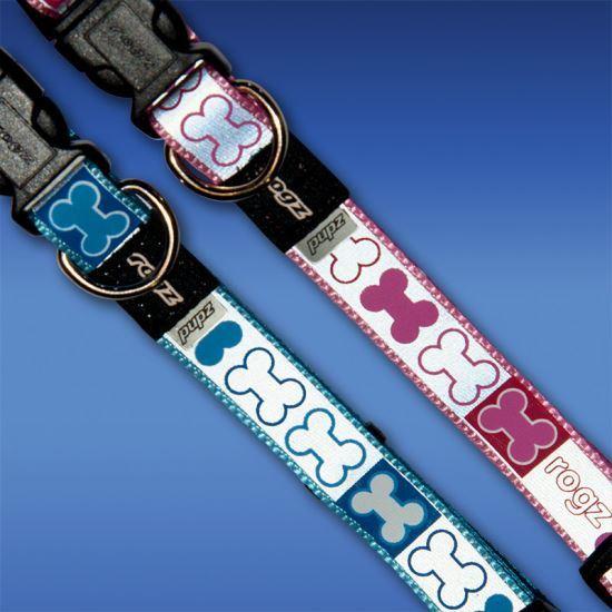 Rogz Pupz Dog Collar Reflecto - Xtra Small 5.5-8.25in